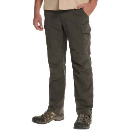 Craghoppers NosiLife Cargo Pants - UPF 40+, Insect Shield® (For Men) in Black Pepper - Closeouts