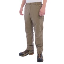 Craghoppers Nosilife Cargo Trouser Pants -UPF 40+ (For Men) in Pebble - Closeouts
