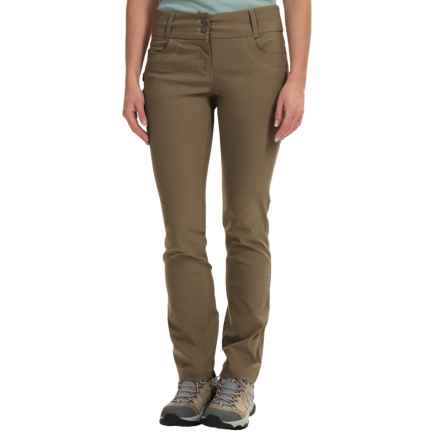 Craghoppers NosiLife® Clara Cig Pants - UPF 40+ (For Women) in Litchen Green - Closeouts