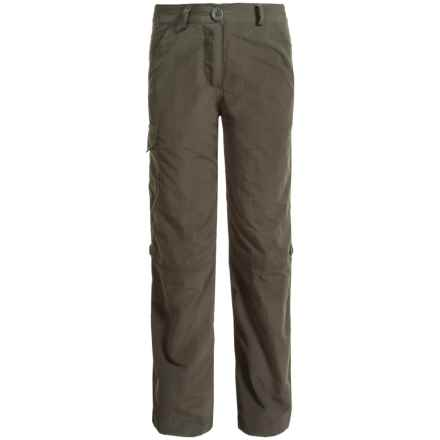 Craghoppers NosiLife® Convertible Travel Pants - UPF 40+ (For Little and Big Kids) in Mid Khaki - Closeouts