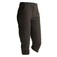Craghoppers NosiLife Crop Pants - UPF 40+, Insect Shield® (For Women) in Mid Khaki - Closeouts