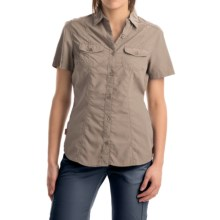 Craghoppers NosiLife Darla Shirt - UPF 40+, Insect Shield®, Short Sleeve (For Women) in Mushroom - Closeouts