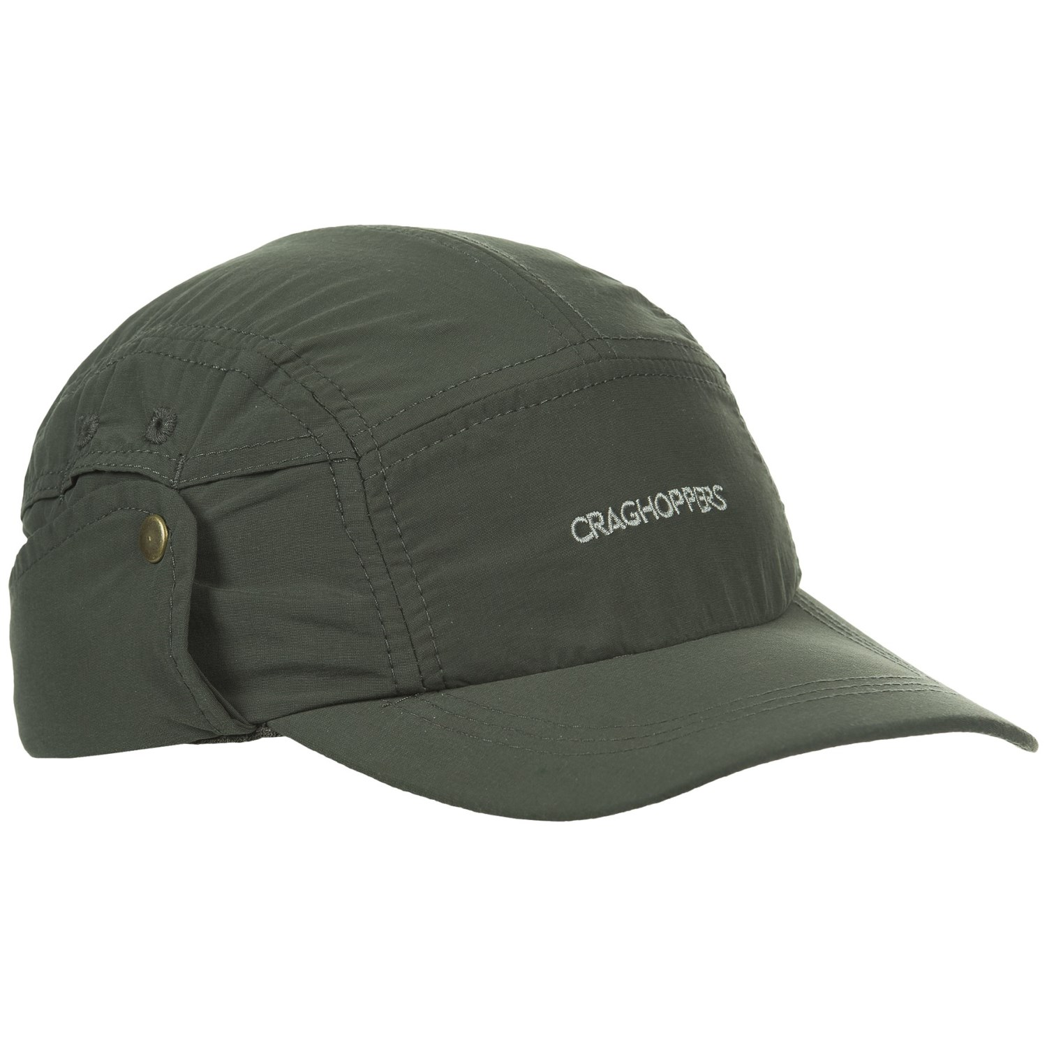 08055887670 Craghoppers NosiLife® Desert Hat (For Men) in Dark Khaki ...