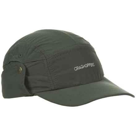 Craghoppers NosiLife® Desert Hat (For Men) in Dark Khaki - Closeouts