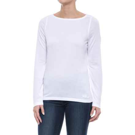Craghoppers NosiLife® Erin Shirt - Long Sleeve (For Women) in Optic White - Closeouts