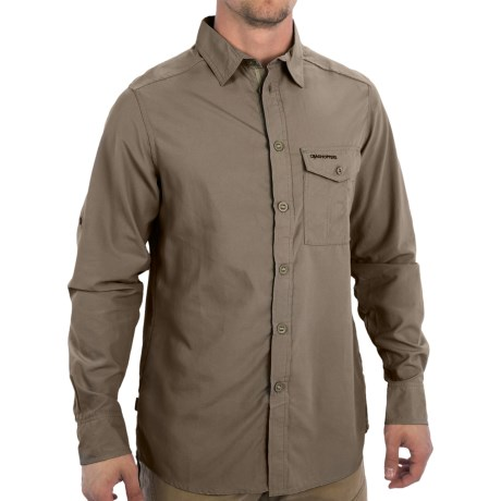 Craghoppers NosiLife Explorer Trek Shirt UPF 40+, Long Sleeve (For Men)