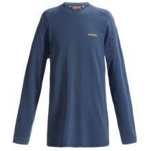Craghoppers NosiLife Graphic Shirt - Long Sleeve (For Little and Big Boys) in Faded Indigo - Closeouts