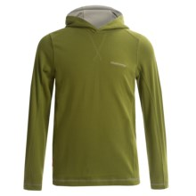 Craghoppers NosiLife Hooded Shirt - UPF 40+, Long Sleeve (For Little and Big Boys) in Larch Green - Closeouts