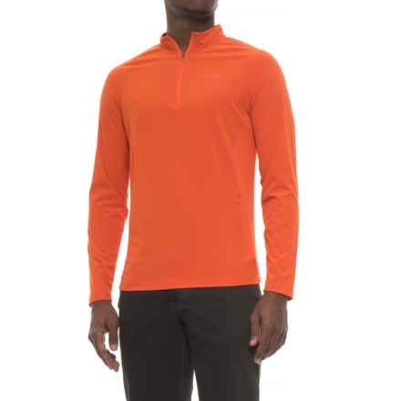 Craghoppers NosiLife® Insect Shield® Active Shirt - Long Sleeve (For Men) in Spice Orange - Closeouts