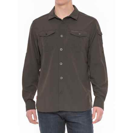 Craghoppers NosiLife® Insect Shield® Advanced Shirt - UPF 50+, Long Sleeve (For Men) in Black Pepper - Closeouts
