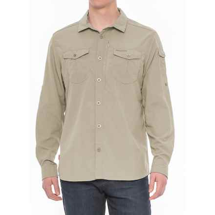 Craghoppers NosiLife® Insect Shield® Advanced Shirt - UPF 50+, Long Sleeve (For Men) in Parchment - Closeouts