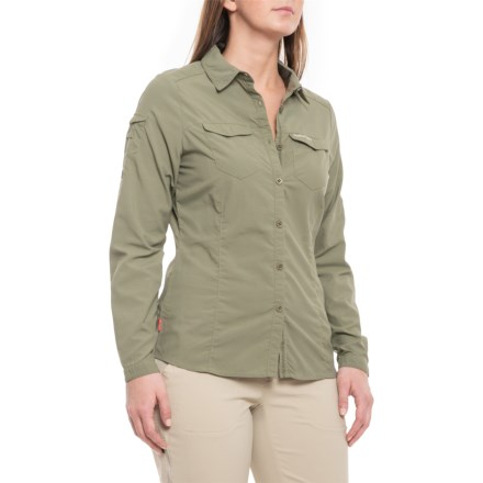 44dbb345 Craghoppers NosiLife® Insect Shield® Adventure Shirt - UPF 50+, Long Sleeve  (