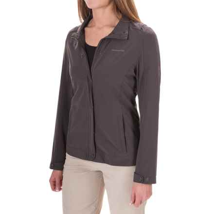 Craghoppers NosiLife® Insect Shield® Akello Jacket - UPF 40+ (For Women) in Charcoal - Closeouts