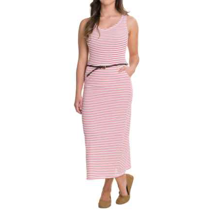 Craghoppers NosiLife® Insect Shield® Amiee Maxi Dress - Sleeveless (For Women) in Fiesta Red Combo - Closeouts