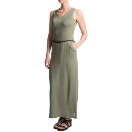 Craghoppers NosiLife® Insect Shield® Amiee Maxi Dress - Sleeveless (For Women) in Soft Moss Marl - Closeouts