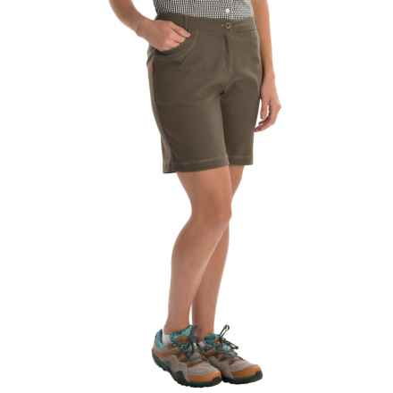 Craghoppers NosiLife Insect Shield® Clara Shorts - UPF 40+ (For Women) in Litchengreen - Closeouts