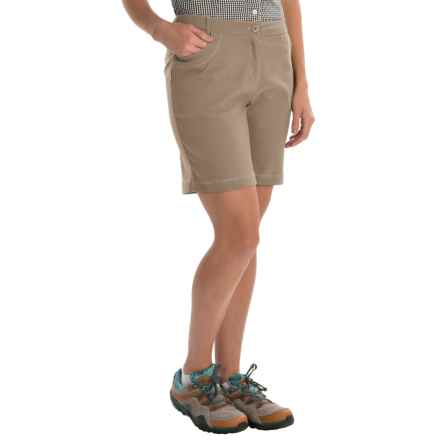Craghoppers NosiLife Insect Shield® Clara Shorts - UPF 40+ (For Women) in Mushroom - Closeouts