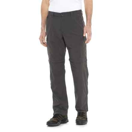 Craghoppers NosiLife® Insect Shield® Convertible Trousers - UPF 50+ (For Men) in Black Pepper - Closeouts
