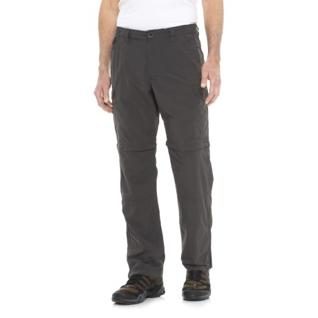 Craghoppers NosiLife® Insect Shield® Convertible Trousers - UPF 50+ (For Men) in Black Pepper
