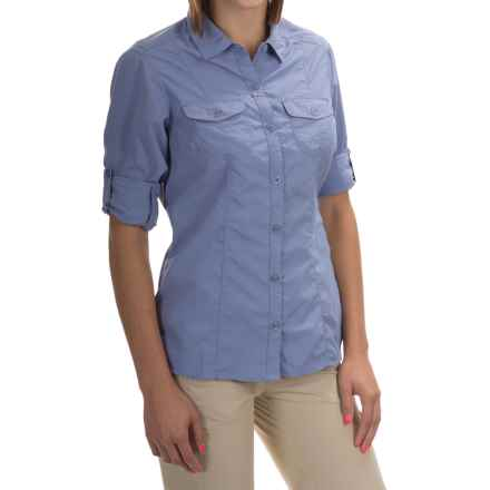 Craghoppers NosiLife Insect Shield® Darla Shirt - UPF 40+, Long Sleeve (For Women) in Ashen Mist - Closeouts