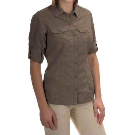 Craghoppers NosiLife Insect Shield® Darla Shirt - UPF 40+, Long Sleeve (For Women) in Litchengreen - Closeouts