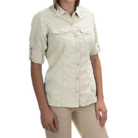 Craghoppers NosiLife Insect Shield® Darla Shirt - UPF 40+, Long Sleeve (For Women) in Sea Salt - Closeouts
