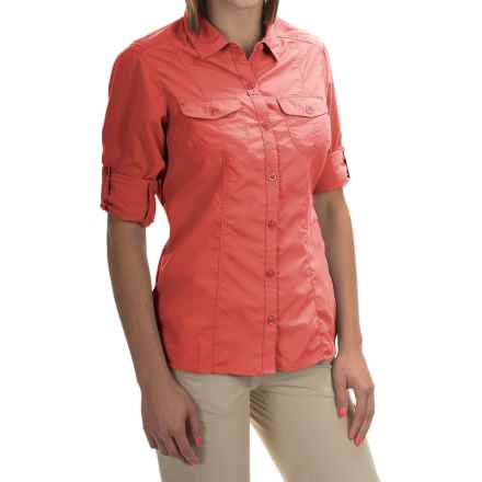 Craghoppers NosiLife Insect Shield® Darla Shirt - UPF 40+, Long Sleeve (For Women) in Sunset - Closeouts