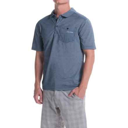 Craghoppers NosiLife Insect Shield® Gilles Polo Shirt - Short Sleeve (For Men) in Light Dusk Blue - Closeouts
