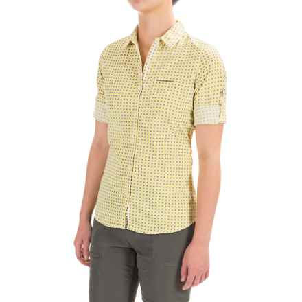 Craghoppers Nosilife® Insect Shield® Olivie Shirt - UPF 50+, Long Sleeve (For Women) in Citronella Combo - Closeouts