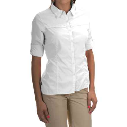 Craghoppers NosiLife Insect Shield® Pro Lite Shirt - Button Front, Long Sleeve (For Women) in White - Closeouts