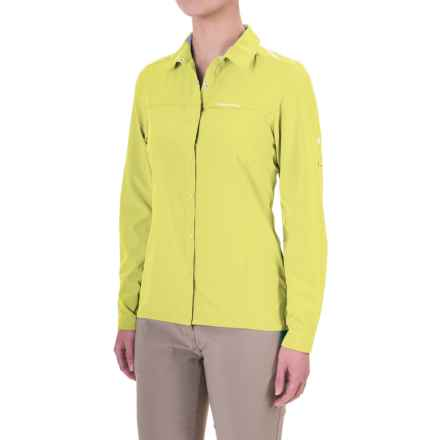 Craghoppers NosiLife® Insect Shield® Pro Shirt - UPF 50+, Long Sleeve (For Women) in Citronella - Closeouts
