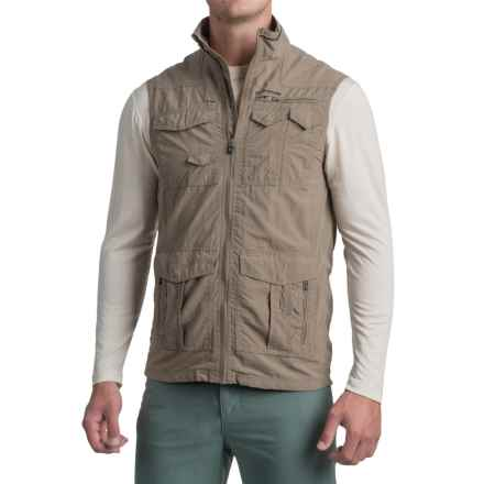 Craghoppers NosiLife® Insect Shield® Sherman Gilet Vest - UPF 40+, Full Zip (For Men) in Pebble - Closeouts