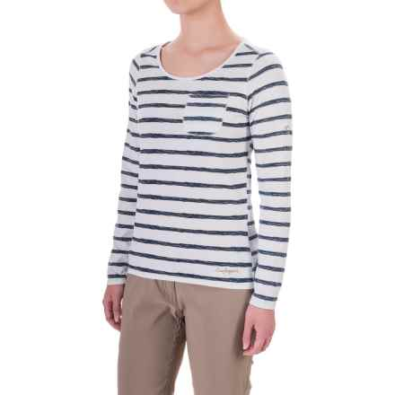 Craghoppers NosiLife® Insect Shield® T-Shirt - Long Sleeve (For Women) in Calico Combo - Closeouts