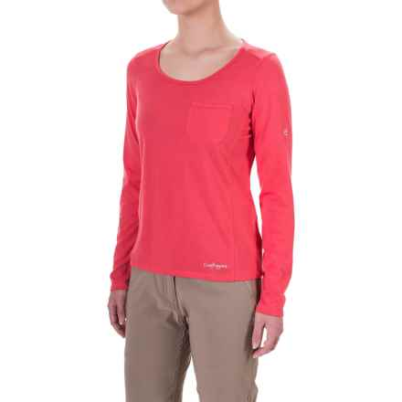 Craghoppers NosiLife® Insect Shield® T-Shirt - Long Sleeve (For Women) in Watermelon - Closeouts