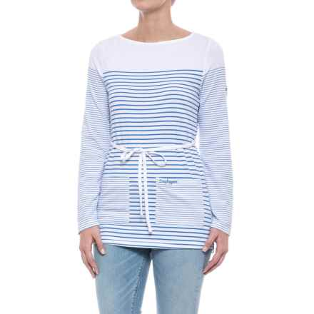 Craghoppers NosiLife® Iris Tunic Shirt - Long Sleeve (For Women) in Bluebell Combo - Closeouts