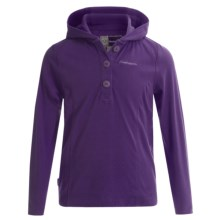 Craghoppers NosiLife Mila Hoodie - UPF 40+ (For Little and Big Girls) in Dark Plum - Closeouts
