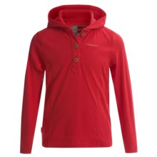 Craghoppers NosiLife Mila Hoodie - UPF 40+ (For Little and Big Girls) in Geranium Red - Closeouts