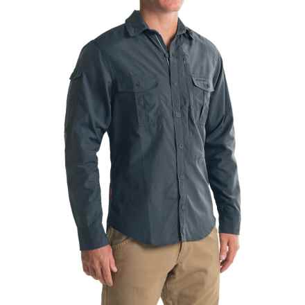 Craghoppers NosiLife® Shirt - UPF 40+, Long Sleeve (For Men) in Windsor Blue - Closeouts