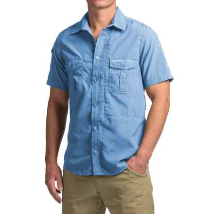 Craghoppers NosiLife® Shirt - UPF 40+, Short Sleeve (For Men) in Maya Blue - Closeouts