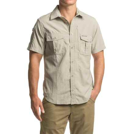 Craghoppers NosiLife® Shirt - UPF 40+, Short Sleeve (For Men) in Parchment - Closeouts