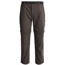 Craghoppers NosiLife Stretch Convertible Pants - UPF 40+, Insect Shield® (For Men) in Black Pepper - Closeouts
