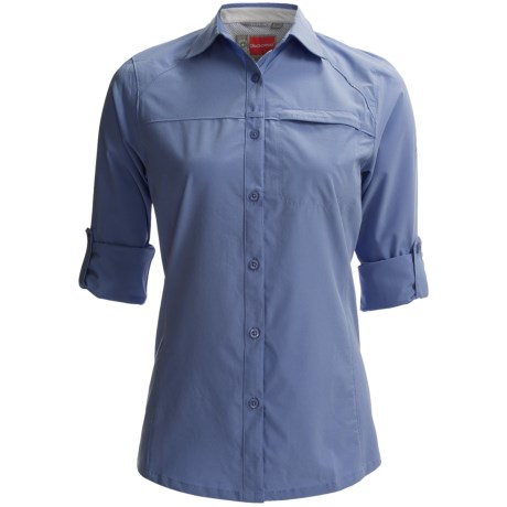 Craghoppers NosiLife Stretch Shirt - UPF 40+, Long Sleeve (For Women) in Sea Salt