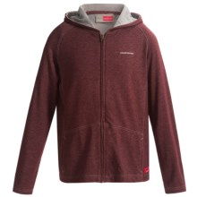 Craghoppers NosLife Avila Jacket - UPF 40+ (For Little and Big Kids) in Port Red Marl - Closeouts