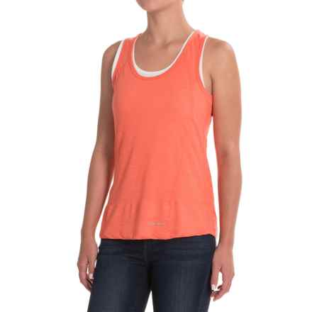Craghoppers Pro Lite 2-Layer Wash and Wear Tank Top (For Women) in Bright Papaya - Closeouts