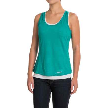 Craghoppers Pro Lite 2-Layer Wash and Wear Tank Top (For Women) in Bright Turquoise/Dove - Closeouts