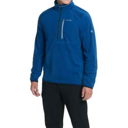Craghoppers Pro Lite Fleece Shirt - Zip Neck, Long Sleeve (For Men) in Imperial Blue - Closeouts