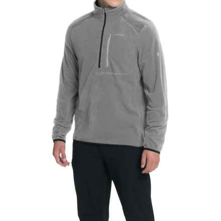 Craghoppers Pro Lite Fleece Shirt - Zip Neck, Long Sleeve (For Men) in Quarry Grey - Closeouts