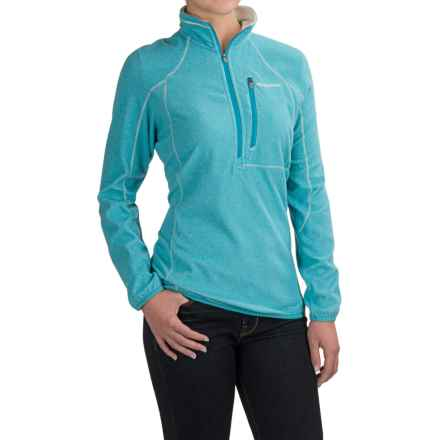 Craghoppers ProLite Lagoon Pullover Jacket - Zip Neck (For Women) in Lagoon - Closeouts