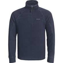 Craghoppers Risor Fleece Pullover - Zip Neck (For Men) in Blue Ink Marl - Closeouts