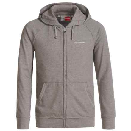 Craghoppers Ryley NosiLife® Insect Shield® Hoodie - UPF 50+, Zip Front (For Kids) in Quarry Gray Marl - Closeouts